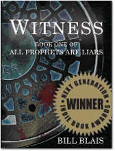 Witness Book Cover - Winner - Next Generation Indie Book Awards